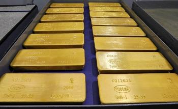 Giá vàng SJC quanh mức 56 triệu đồng/lượng sáng 14/5