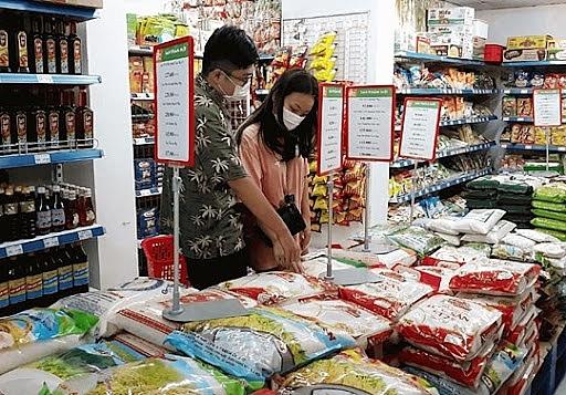 Hàng hóa nước ta ngày càng nâng cao về chất lượng, đa dạng mẫu mã đáp ứng thị hiếu người Việt