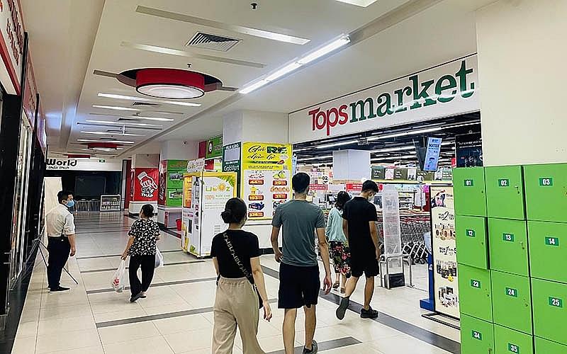 Hà Nội: Loạt siêu thị Big C chính thức đổi tên thành Tops Market