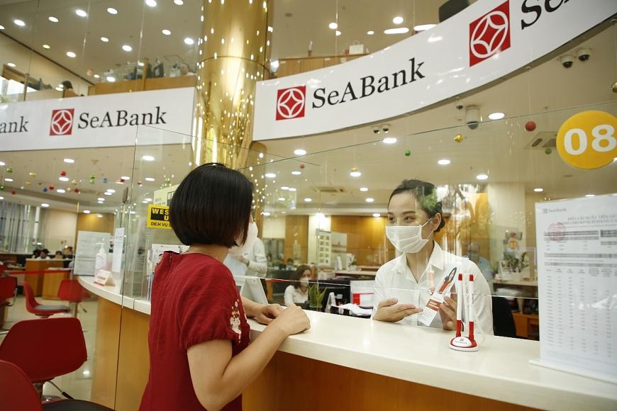từ tháng 9/2021 SeABank triển khai Dịch vụ mua bán vàng miếng SJC trực tuyến trên ngân hàng số SeANet/SeAMobile
