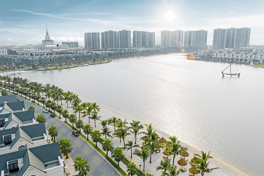 Hà Nội đang hình thành các trung tâm mới với chất lượng không gian sống tốt, thu hút làn sóng di dân từ các khu trung tâm cũ.