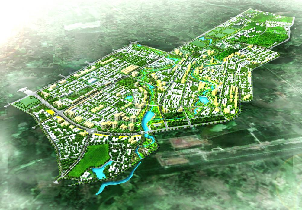 Phối cảnh tổng thể đô thị Lam Sơn – Sao Vàng (nguồn: https://baoxaydung.com.vn/)